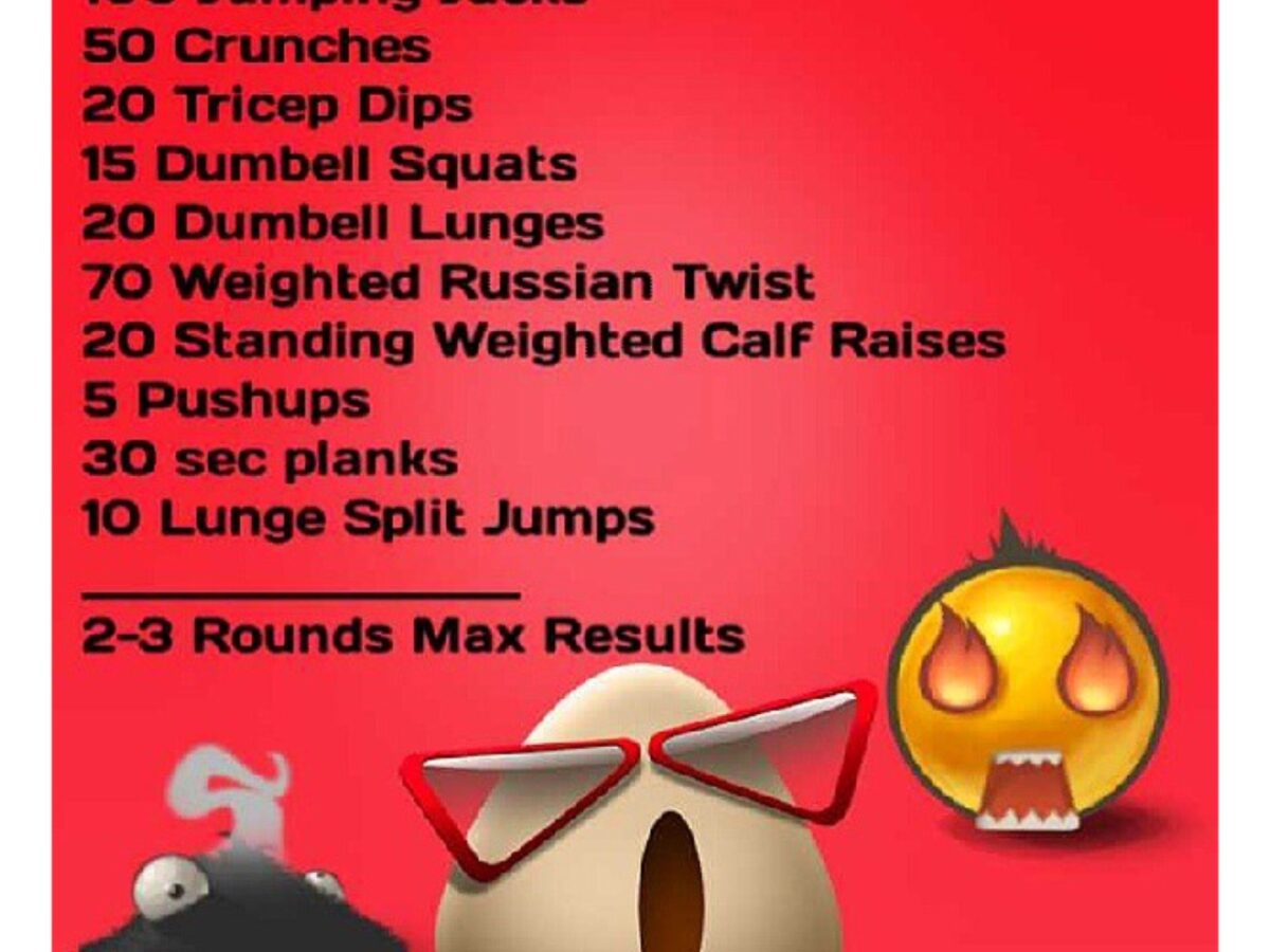Crazy House Workout