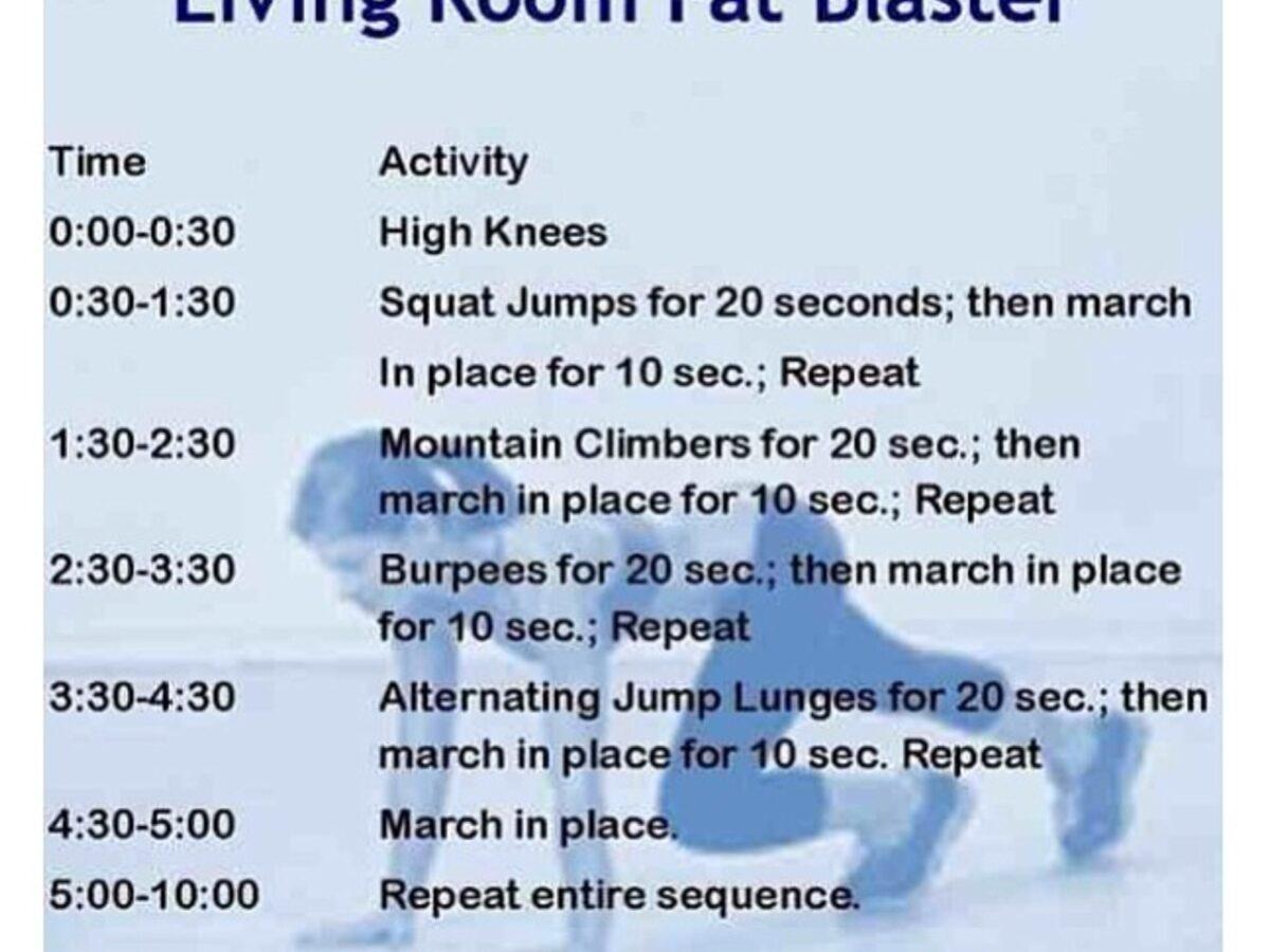 Living Room Fat Blaster